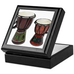 Djembe Drums 1 Keepsake Box
