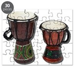 Djembe Drums 1 Puzzle