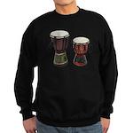 Djembe Drums 1 Sweatshirt (dark)