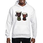 Djembe Drums 1 Hooded Sweatshirt