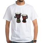 Djembe Drums 1 White T-Shirt