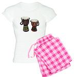 Djembe Drums 1 Women's Light Pajamas