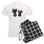 Djembe Drums 1 Men's Light Pajamas