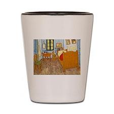 Vincent Van Gogh Bedroom Shot Glass