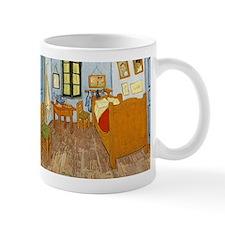Vincent Van Gogh Bedroom Small Mugs