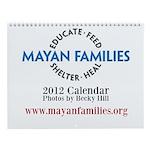 Wall Calendar: Mayan Families