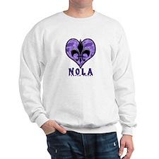 NOLA 'Purple Heart' Sweatshirt
