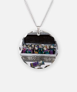 Box of Worry Dolls Necklace