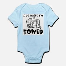 Towed Trailer Infant Bodysuit
