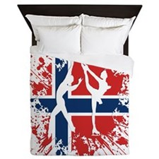 Brown Pacer Silhouette Suede Pillow