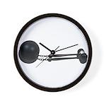 Ball Chain Gavel Wall Clock