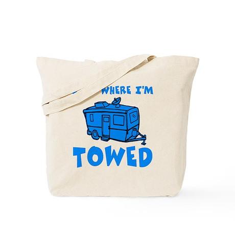 Towed Trailer Tote Bag