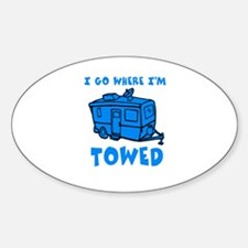 Towed Trailer Bumper Stickers