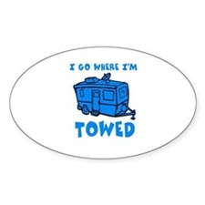 Towed Trailer Decal