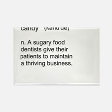 Candy Definition Rectangle Magnet