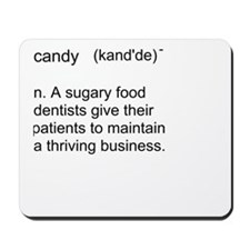 Candy Definition Mousepad