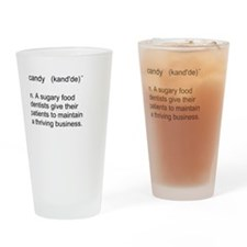 Candy Definition Drinking Glass