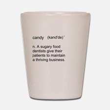 Candy Definition Shot Glass