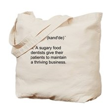 Candy Definition Tote Bag