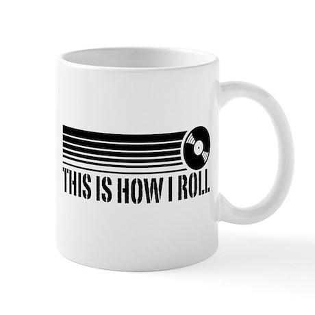 This Is How I Roll Vinyl Mug