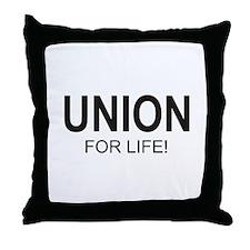 Union For Life Throw Pillow