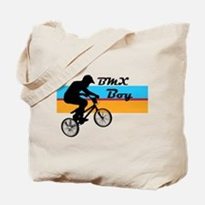 BMX Boy Tote Bag