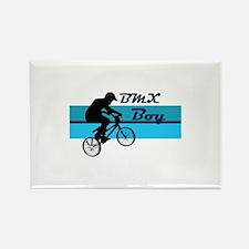 BMX Boy Rectangle Magnet