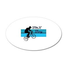 BMX Boy 22x14 Oval Wall Peel