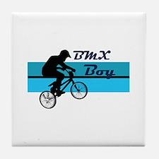 BMX Boy Tile Coaster