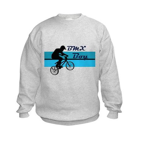 BMX Boy Kids Sweatshirt