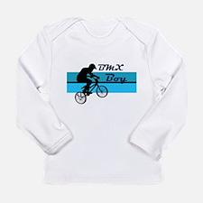 BMX Boy Long Sleeve Infant T-Shirt