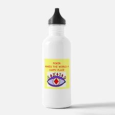 poker Water Bottle