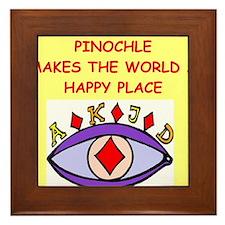 pinochle Framed Tile