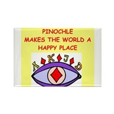 pinochle Rectangle Magnet