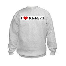 I Love Kickball Sweatshirt