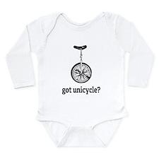 Got unicycle? Long Sleeve Infant Bodysuit
