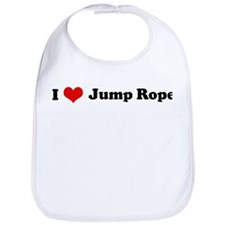 I Love Jump Rope Bib