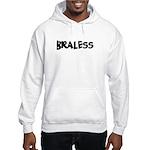 Braless Hooded Sweatshirt