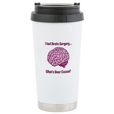 What's Your Excuse? Thermos Mug