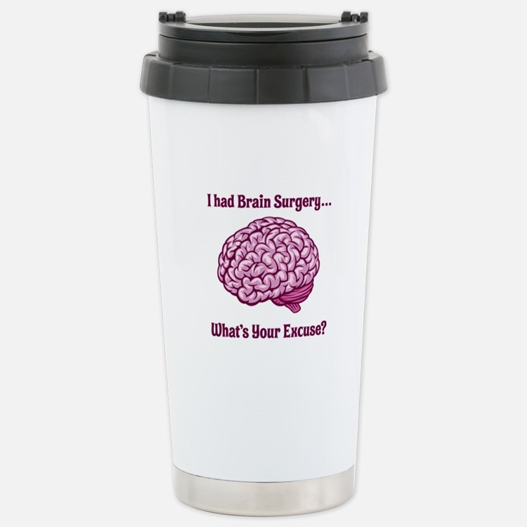 What's Your Excuse? Travel Mug