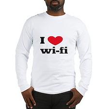 i love wi-fi Long Sleeve T-Shirt