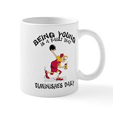 Funny Bowling Grandpa Mug