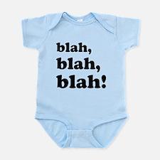 Blah, blah, blah Infant Bodysuit