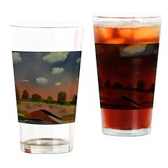 Evening Walk Drinking Glass