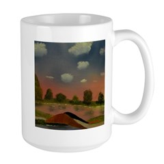 Evening Walk Large Mug