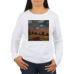 Evening Walk Women's Long Sleeve T-Shirt