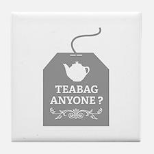 Teabag Anyone ? Tile Coaster
