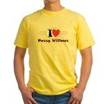 Pussy Willows Yellow T-Shirt