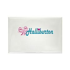 HALLIBURTON LOVE Rectangle Magnet