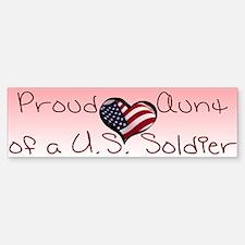 Proud Aunt Bumper Bumper Sticker